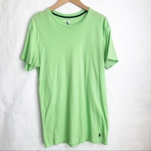 Ralph Lauren Green Casual Basic Under T Shirt
